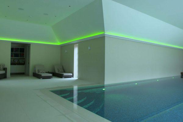 swimming pool green